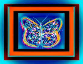 Fanciful Butterfly Three
