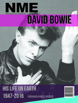 David Bowie Magazine Cover Mockup