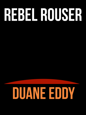 Rebel Rouser Duane Eddy CD Album Cover Mockup