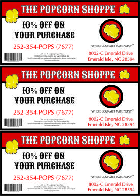 Popcorn Shoppe Coupon