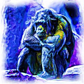 A Blue Gorilla edited