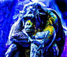 A Blue Gorilla edited 2