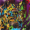 Colorful leopard
