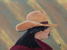 Cowgirl Up... Sold to Southwest Collector
