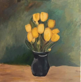 Friendship Tulips in Vase