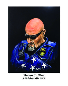 Honoring Law Enforcement / Original Sold