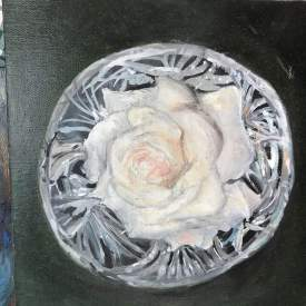 Rose in Crystal