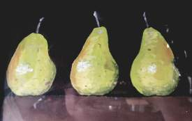 3 pears beat a full house