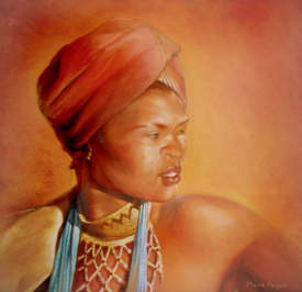 Traditional Xhosa Woman